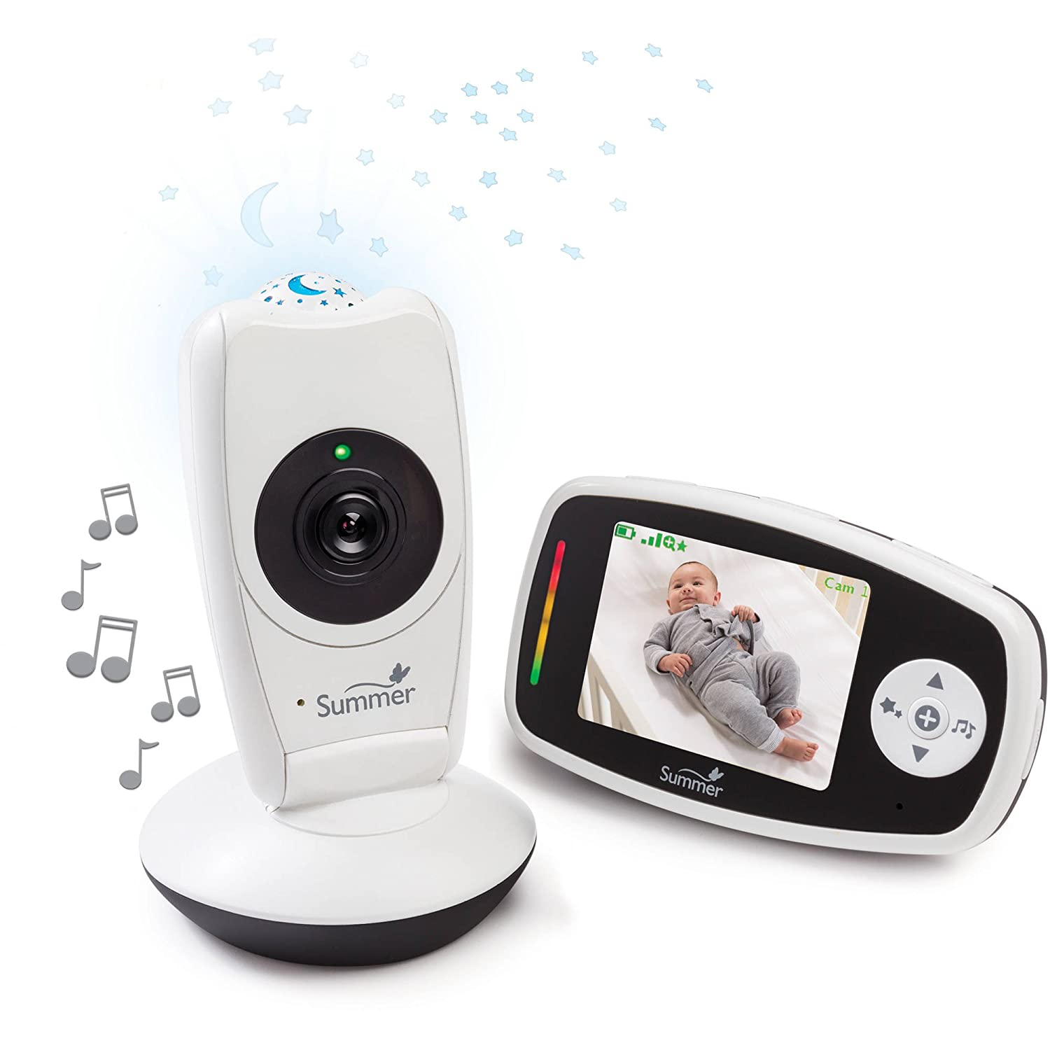 Summer Baby Glow Video Monitor Projection Camera