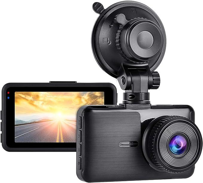 Aigoss Dashcam Autokamera Full Hd 1080p Video Recorder Elektronik