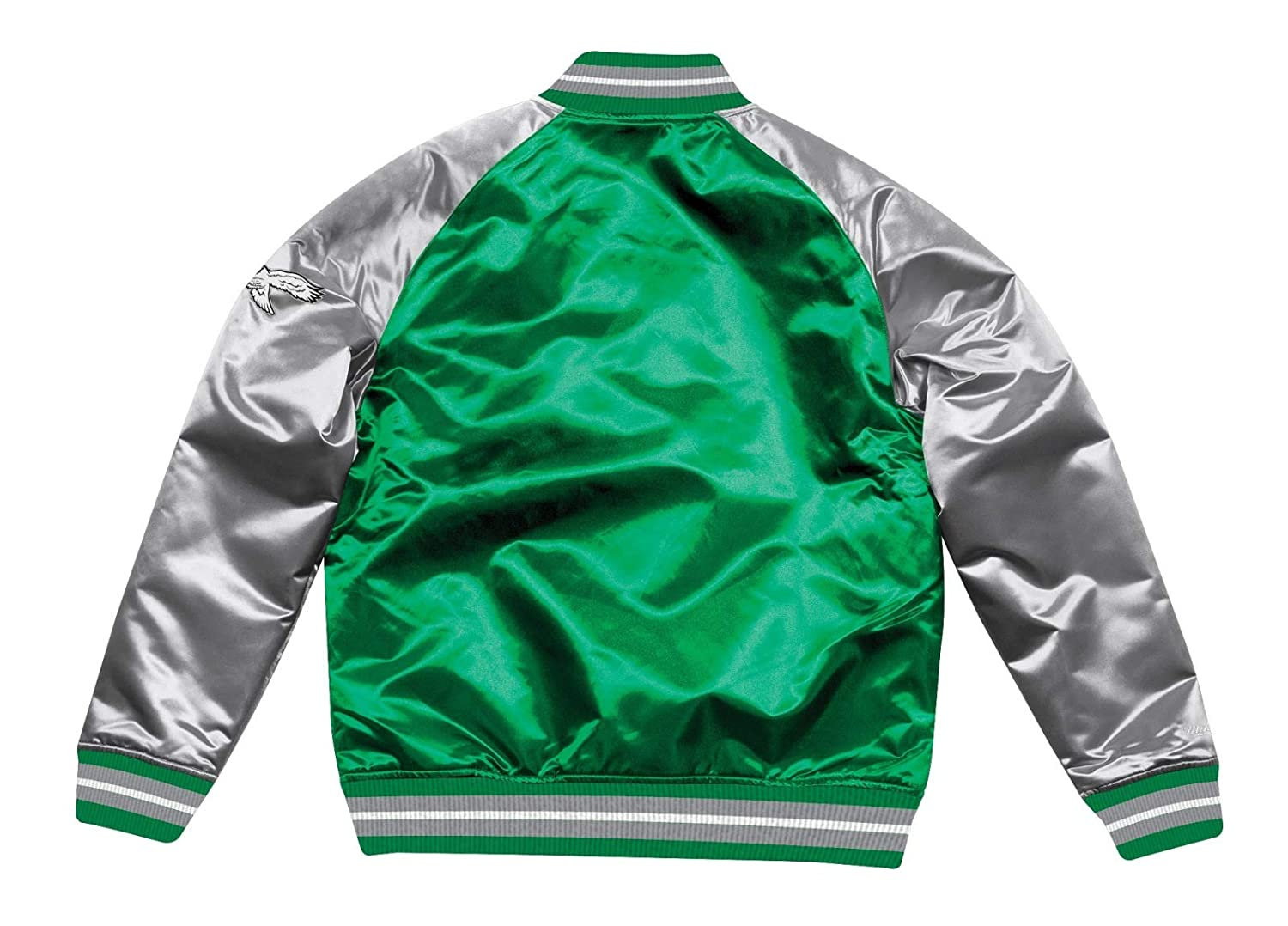 d5ed33730bd Mitchell ness philadelphia eagles tough season premium satin jacket sports  outdoors jpg 1500x1078 Mitchell eagles jacket