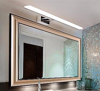 Sadasd Lichterkette Spiegel Badezimmer Modern Einfache Led Spiegel