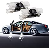 Car Door LED Light Logo Projector 2 PCS Step Door Courtesy Welcome Lights Ghost Shadow for