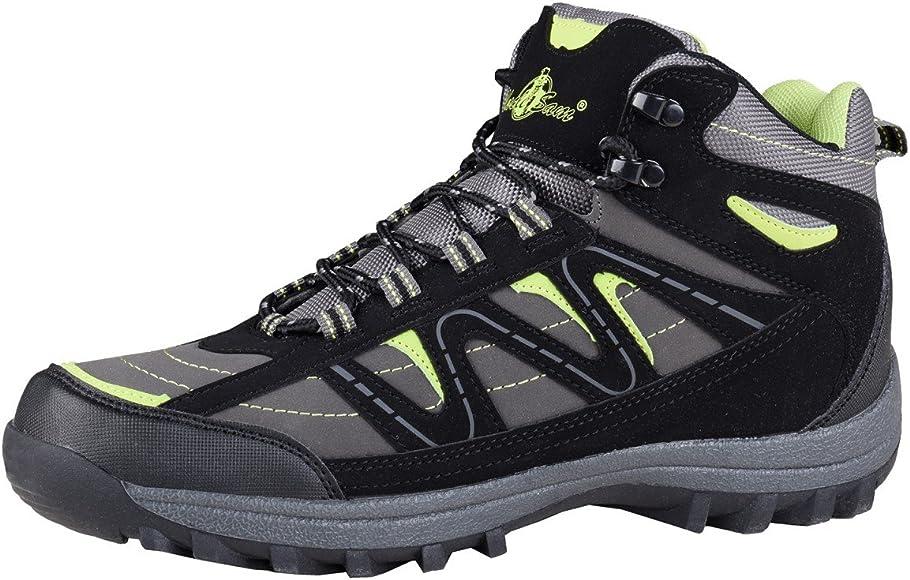 HSM Schuhmarketing - Botas de Senderismo para Hombre, Color, Talla 42 EU: Amazon.es: Zapatos y complementos