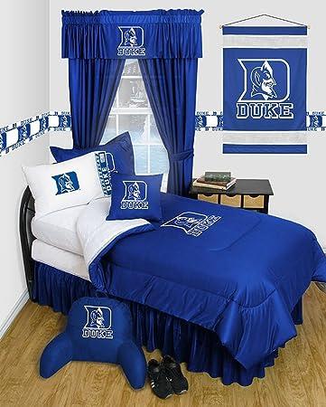 Elegant Duke University Blue Devils Dorm Bedding Comforter Set (Queen) Part 20
