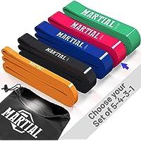Superaktiva sporter MARTIAL Resistance Band - perfekta fitnessband och gummiband för effektiv träning - Motståndsband…