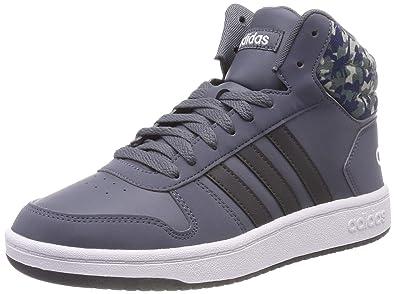3a3262468c4d adidas Unisex Kids  Hoops Mid 2.0 K Gymnastics Shoes  Amazon.co.uk ...