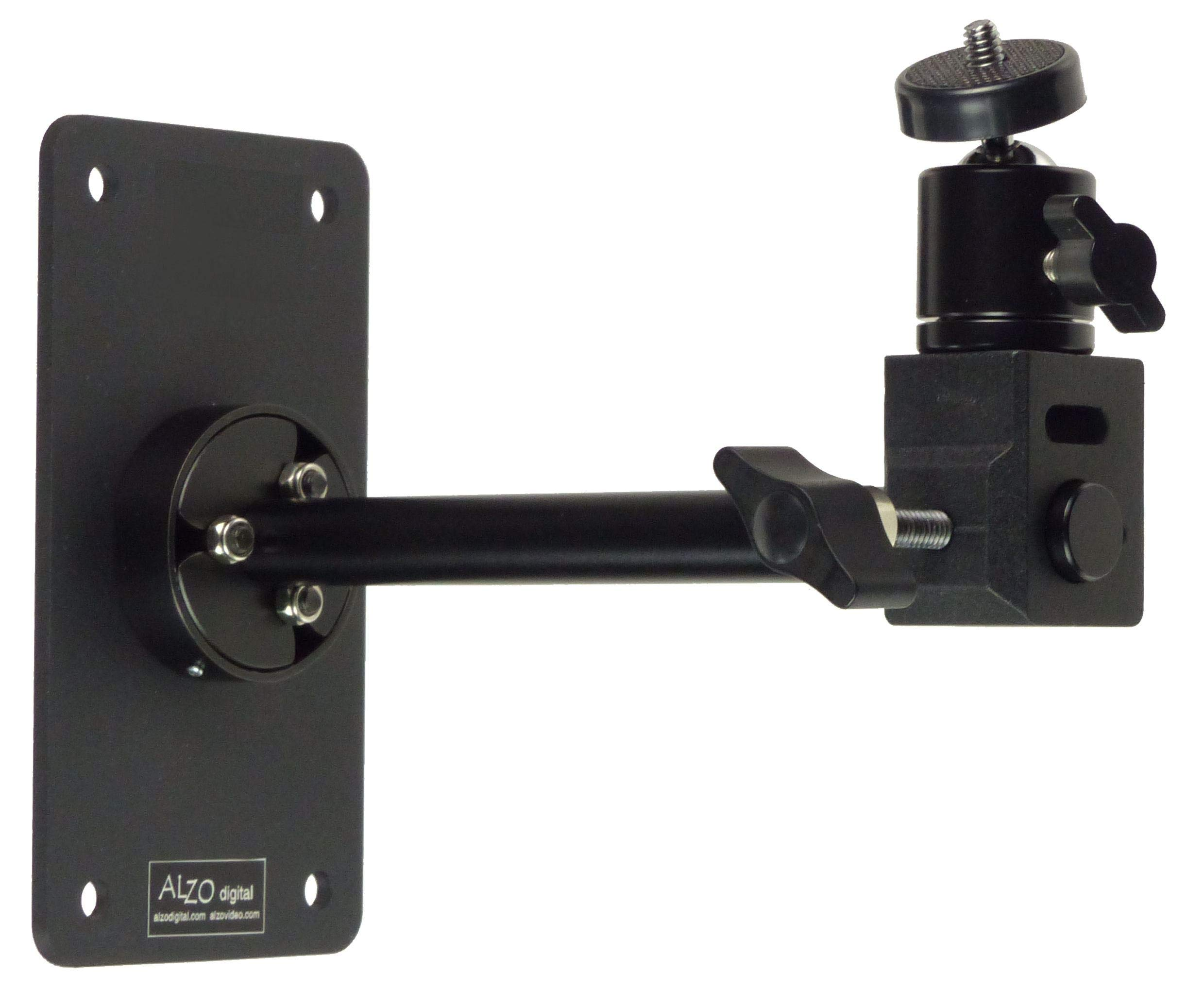 Wall-Mounted Camera Support with Ball Head by ALZO digital