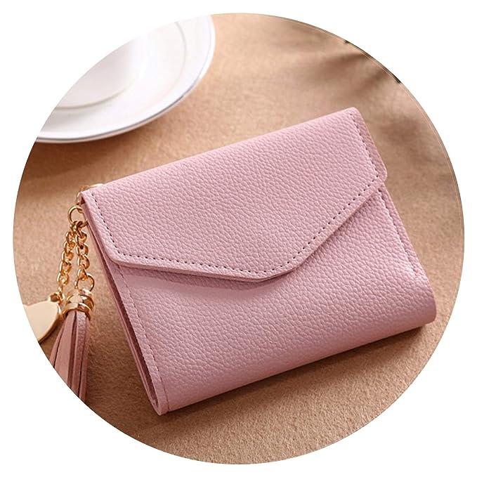 Amazon.com: Bonita bolsa de moda con borla sólida para mujer ...