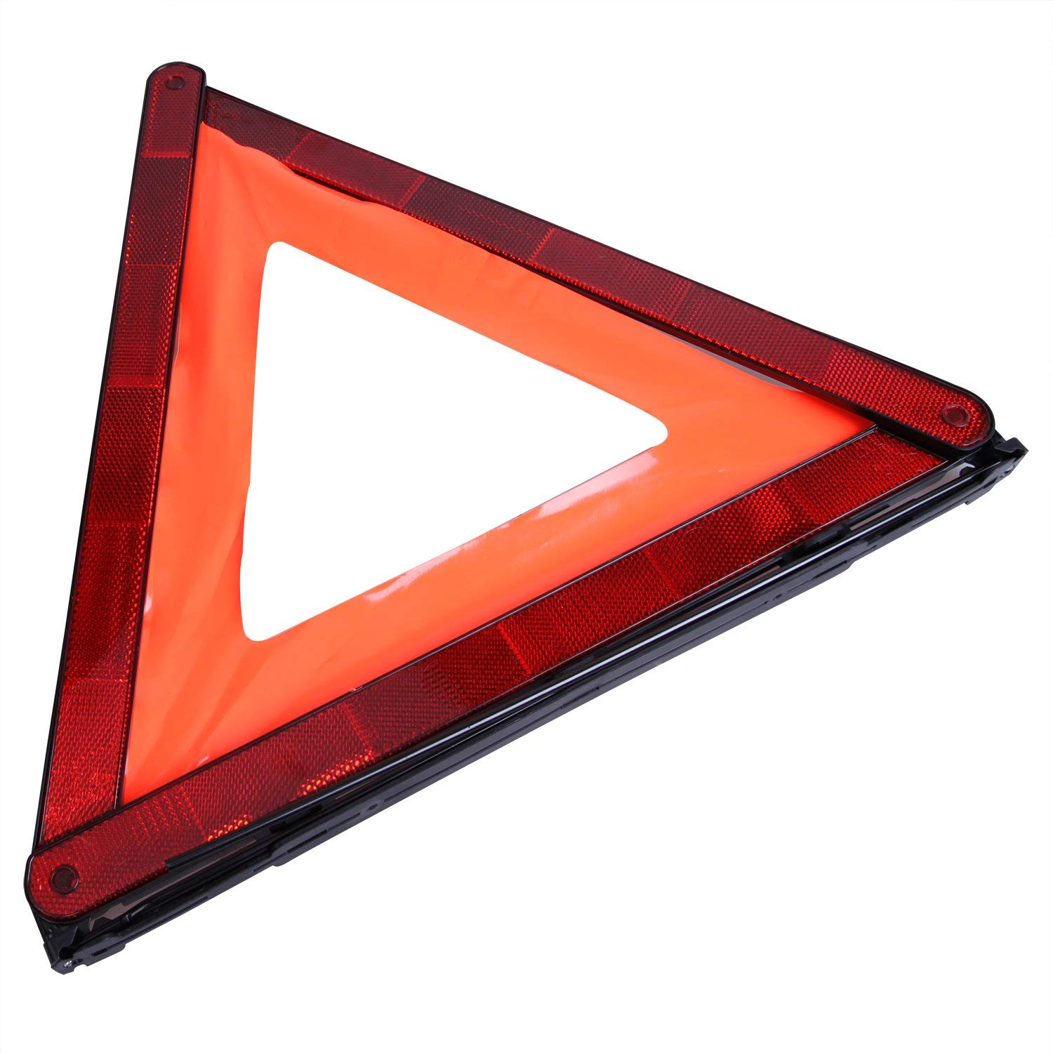 3 Pack Foldable Triangle Emergency Triangle Reflector Safety Triangle Kit