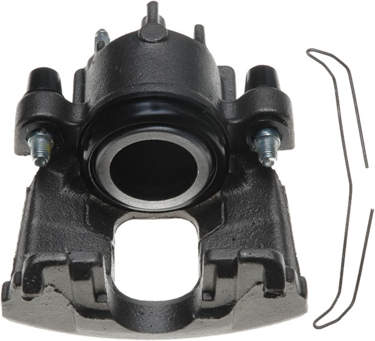 Friction Ready Non-Coated Remanufactured ACDelco 18FR1829 Professional Front Driver Side Disc Brake Caliper Assembly without Pads