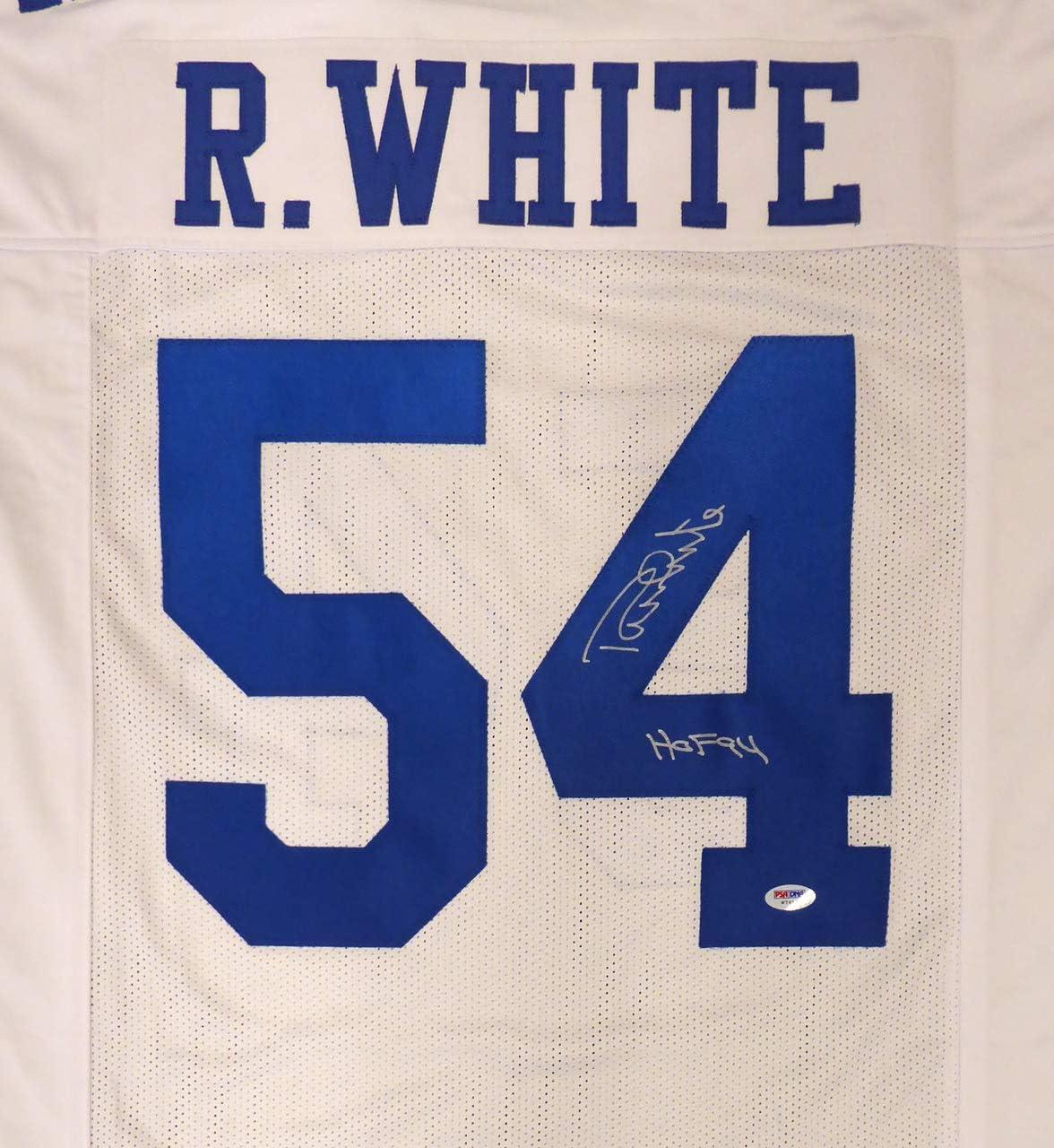 Amazon.com: Cowboys Randy White Autographed White Jersey
