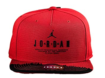 Nike Modern Heritage Gorra Línea Michael Jordan, Hombre, Rojo (Gym Red/Black), MISC: Amazon.es: Deportes y aire libre