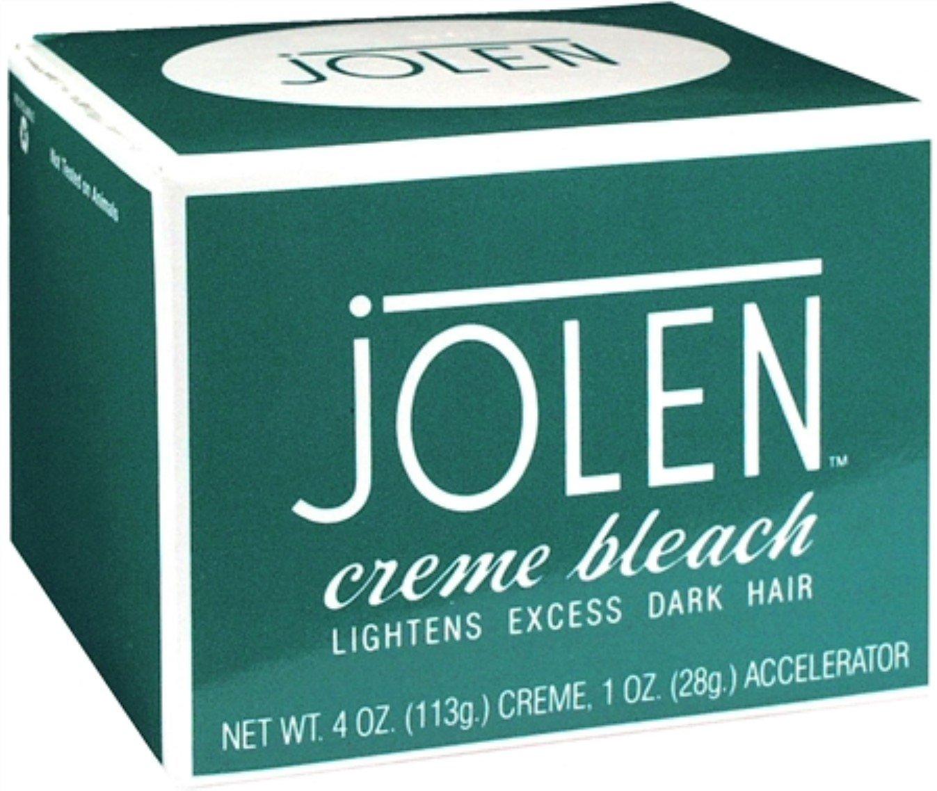Jolen Creme Bleach Original 4 oz (Pack of 12) by Jolen