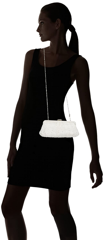 4bedb1ba9b7c Menbur Wedding Women s Halti Bridal Handbags Ivory 831380004  Amazon.co.uk   Shoes   Bags
