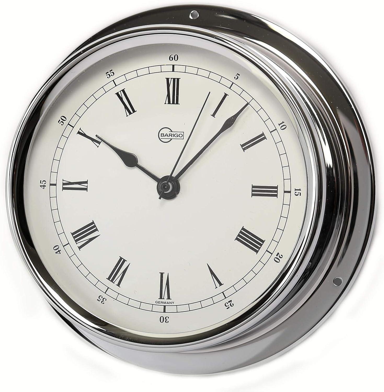 Barigo Reloj de Cuarzo Modelo Regatta Cromo A x A: 120 mm x 40 mm 684cr