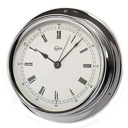Barigo Bootsport Thermometer Hygrometer Chrom Regatta Sport Haushaltsgeräte