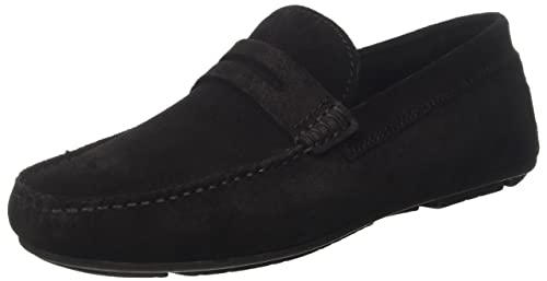 8536180, Mocassins (Loafers) Homme - Noir - Noir, 41 EU EUBata