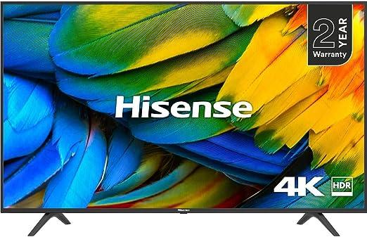 HISENSE H65B7100 TELEVISOR 65H65B7100 4K Smart Aqc, Negro: Hisense: Amazon.es: Hogar