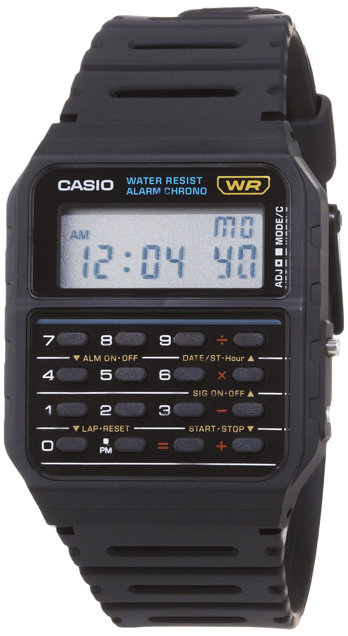 Men's Vintage CA53W-1 Calculator Watch
