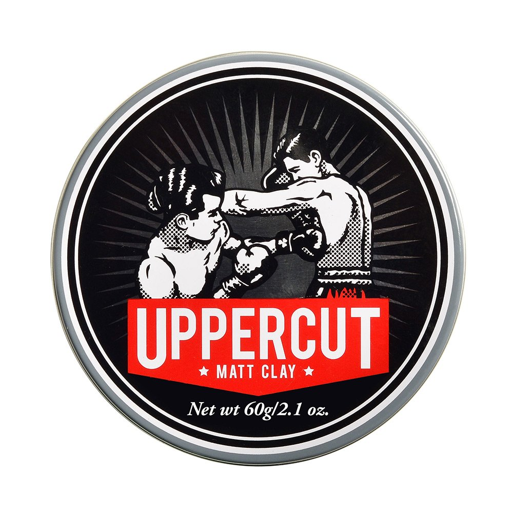 Uppercut Deluxe Matt Clay Pomade 2.1oz - Strong & Reworkable Hold - Dry Matte Finish by Uppercut Deluxe