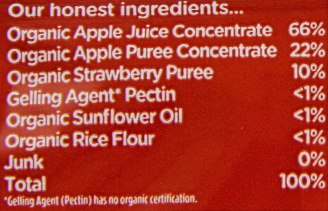 Organix Organic Goodies Strawberry Fruit Gummies 12 g (Pack of 20) Healthcenter