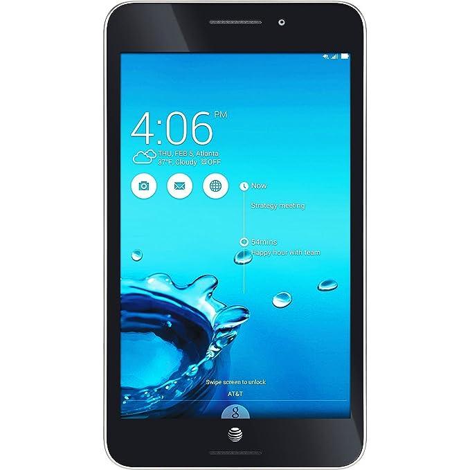 "Newest ASUS MeMo Pad 7 LTE GoPhone Prepaid Tablet, 7"" IPS Display, Intel  Atom Z3530 1 33 GHz Quad Core Processor, 1 GB LPDDR3 RAM, 16 GB eMMC, Wifi,"