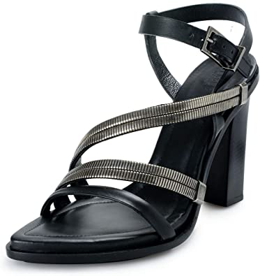 Strappy High Heels Sandals Shoes Size