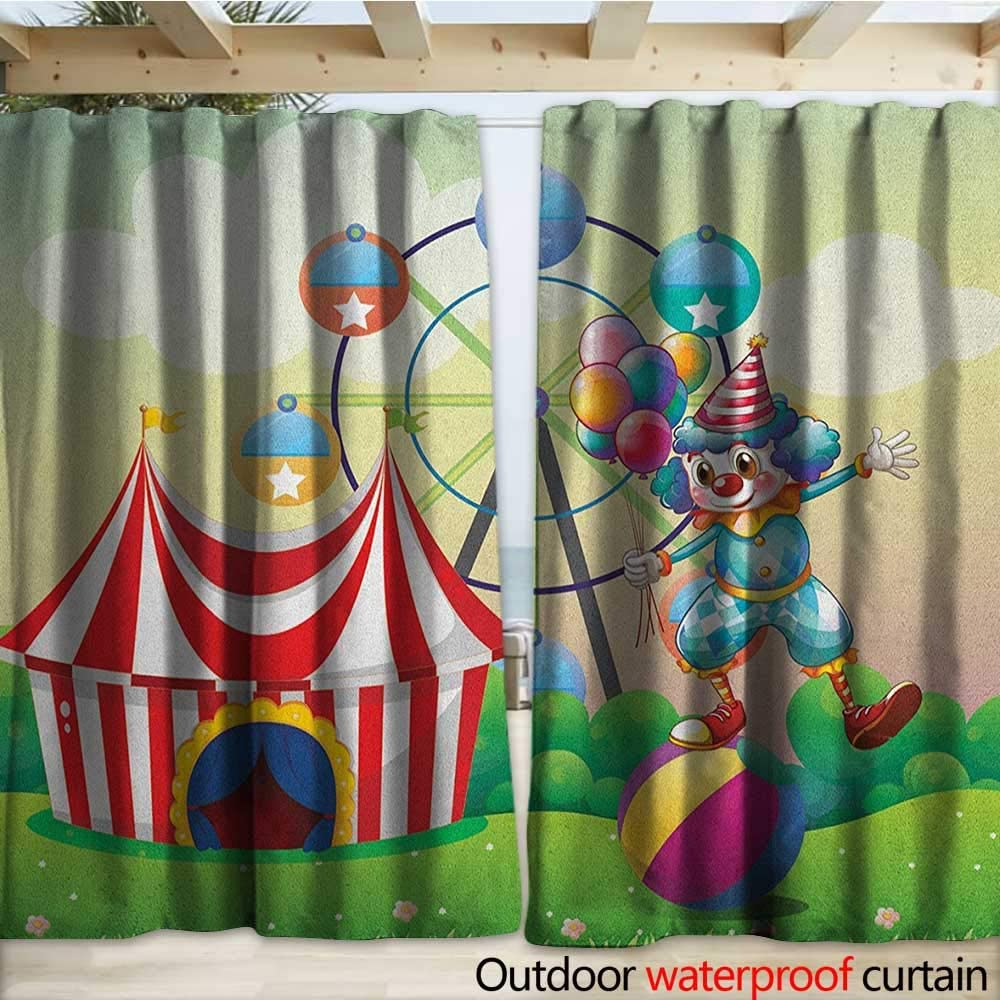 warmfamily - Cortina con Ojales de Circo, diseño de Circo Sobre ...