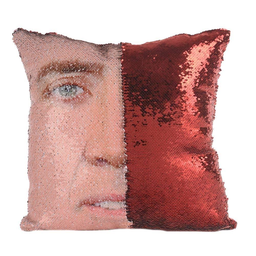 Amazon.com: ROZKITCH Funda de almohada de lentejuelas para ...