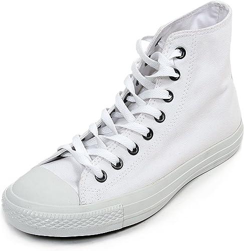 Converse All Star Hi White Mono Canvas