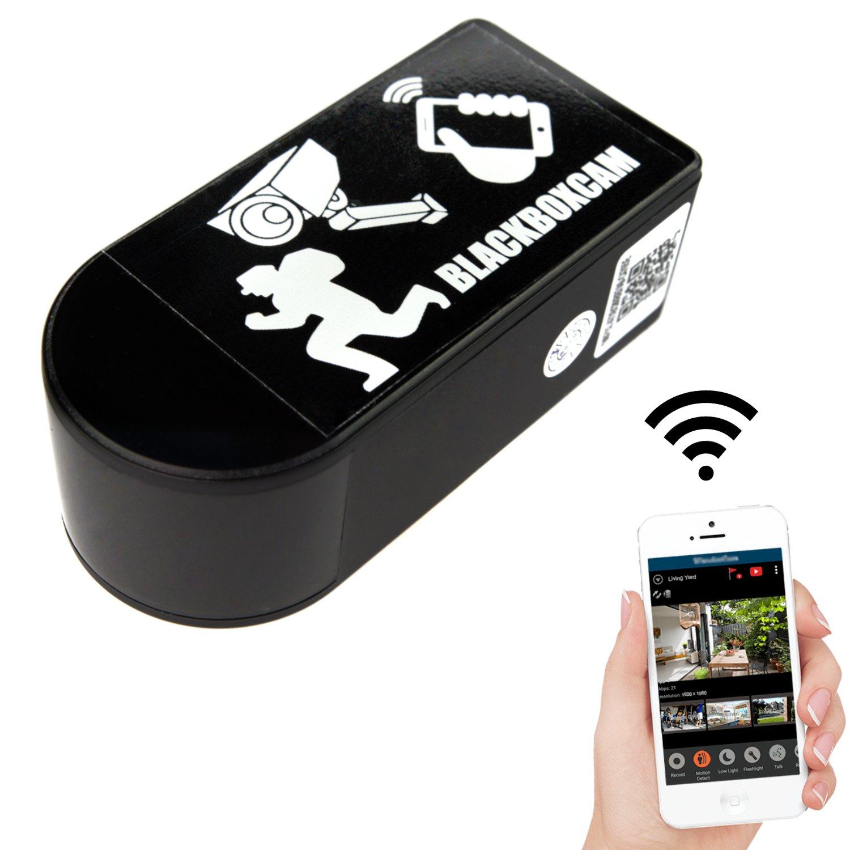 Cámara de seguridad Wifi con objetivo rotativo de 180°, puede ser operada a través de una aplicación / Full-HD con ángulo de amplitud de 90° Wifi IP, ...