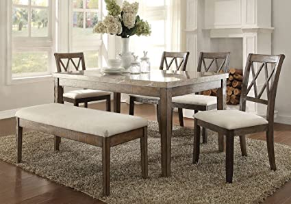 Pleasing Amazon Com Simple Relax Claudia Casual Dining Set Real Home Interior And Landscaping Ologienasavecom