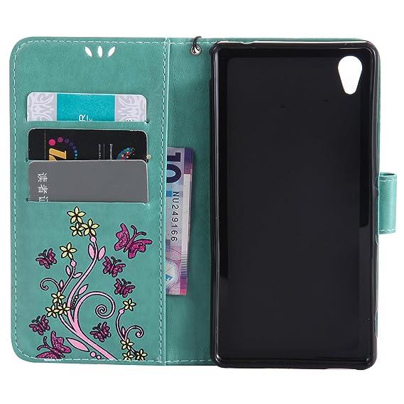 Amazon.com: nexcurio [relieve flor] Sony Xperia M4 Aqua ...