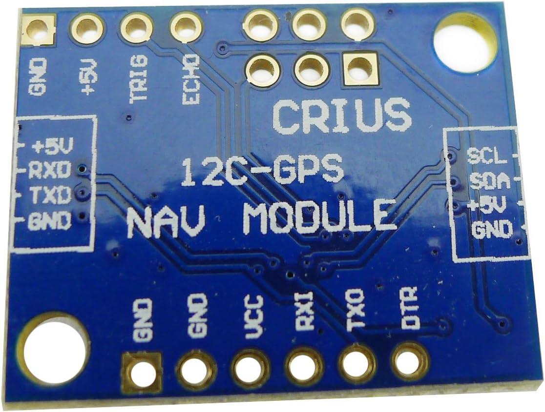 Aihasd MultiWii MWC I2C-GPS NAV Module de navigation Carte dadaptateur GPS