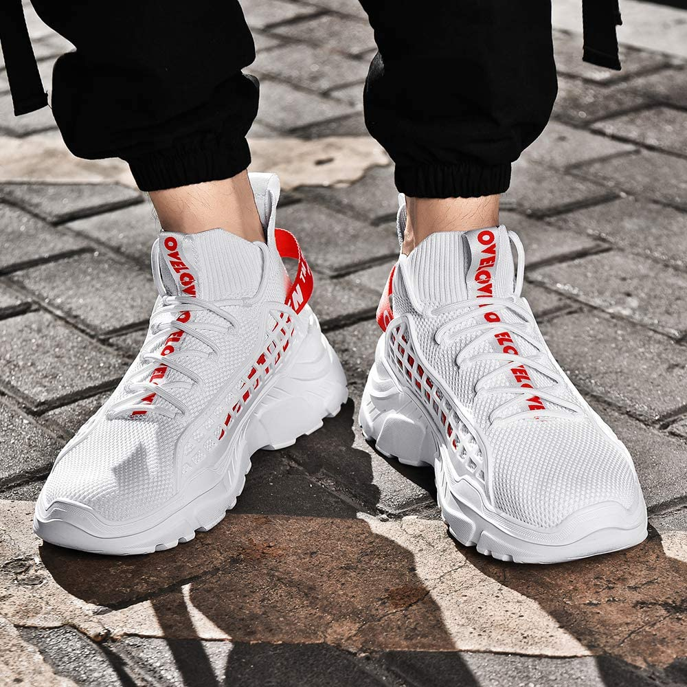 XIDISO Mens Fashion Sneakers Sports Shoe Athletic Walking Running Shoes Casual Sneaker