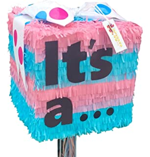 Gender Reveal Pull Strings Pinata