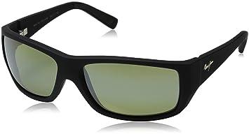 37ad8bed67 Maui Jim - Wassup - Matte Black Rubber Frame-Maui HT Polarized Lenses