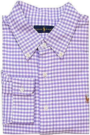 c1458de0c Polo Ralph Lauren Men s Standard-Fit Gingham Oxford Sport Shirt (Small