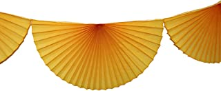 product image for 10 Foot Tissue Paper Bunting Garland (Gold)
