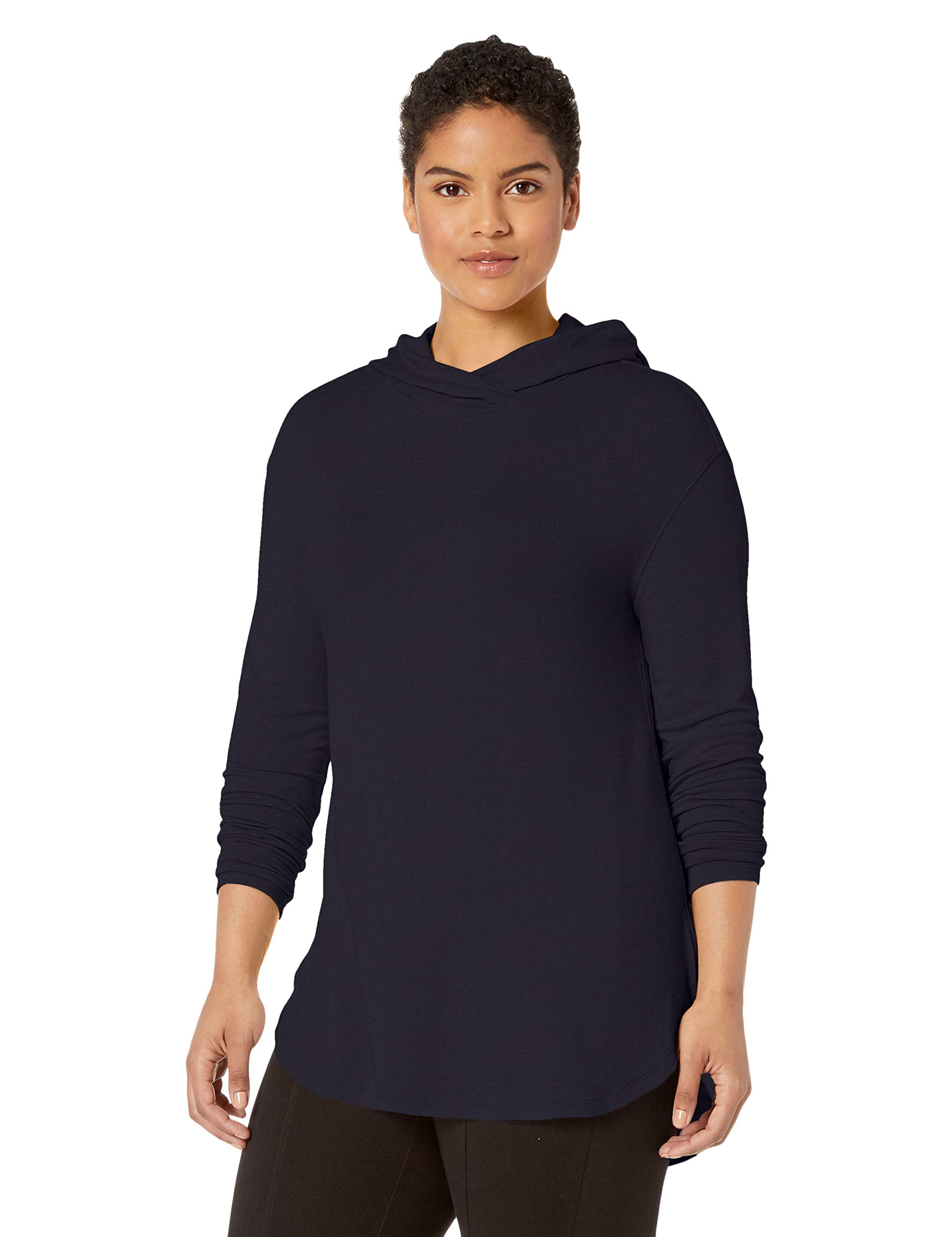 Amazon Brand – Daily Ritual Women's Plus Size Supersoft Terry Long-Sleeve Hooded Pullover