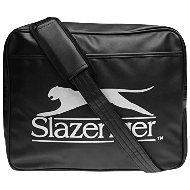 d06745ed18 Slazenger Unisex Flash Flight Bag Black/Silver One Size: Amazon.co.uk:  Clothing