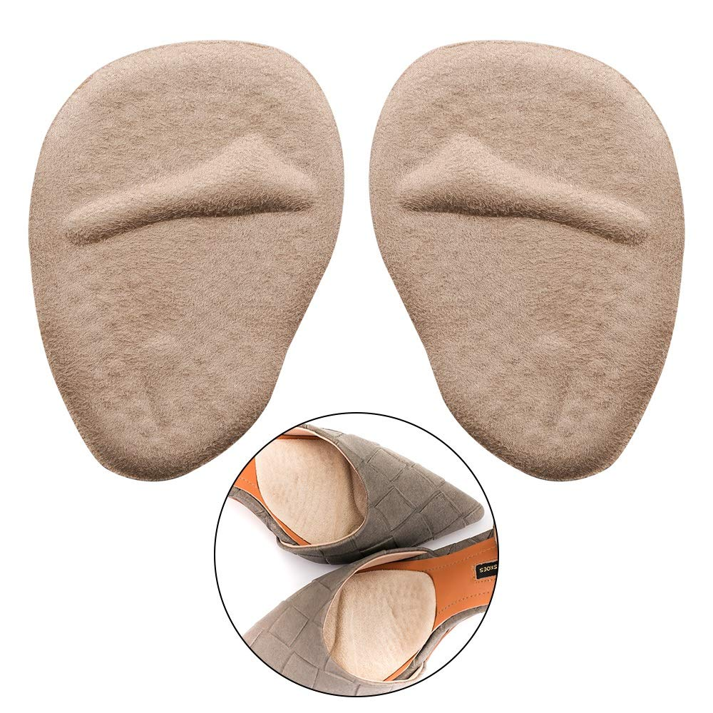 Metatarsal Pads for Bunion Protection,Forefoot Cushioning,Big Toe Separation,Hallux Valgus Correction - Medical Silicone Gel - Fits for Any Size of Foot