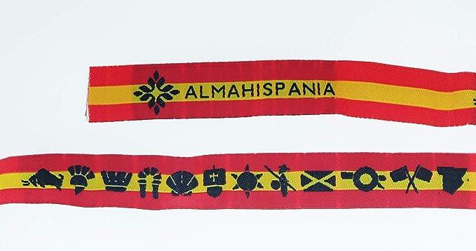 Gemelolandia Pulsera Tela ALMAHISPANIA España 32cm: Amazon.es ...