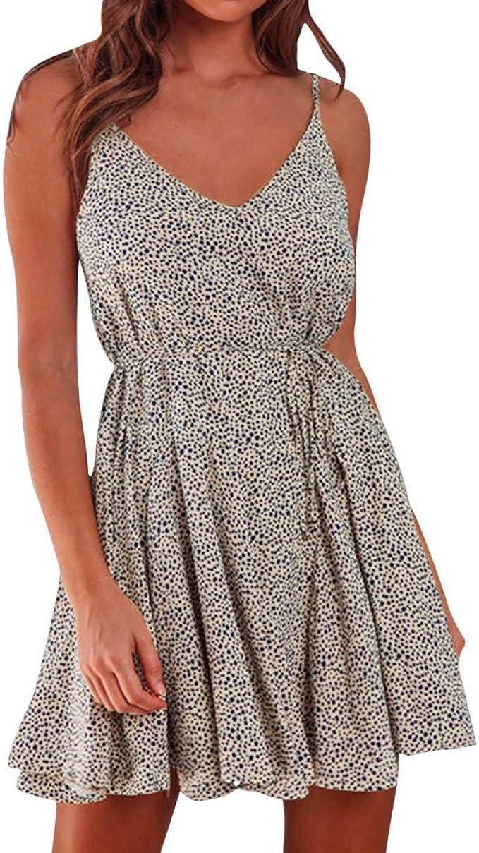 Kleid Damen Kurz Kleid Kleider T Shirt Sommerkleid Damen
