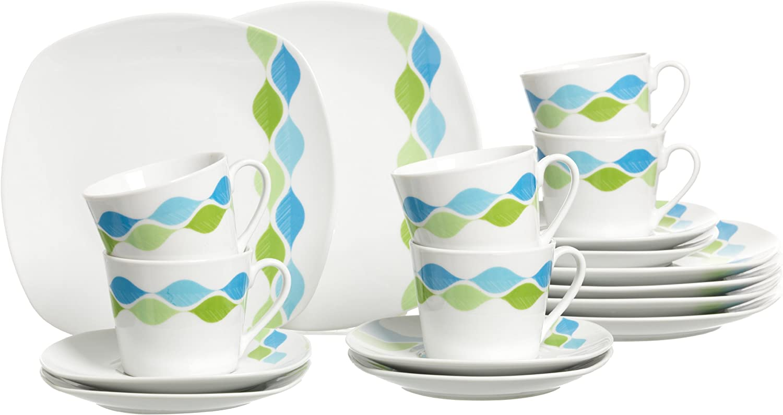 Ritzenhoff /& Breker 095876 Kaffeeservice Alexa 18 teilig