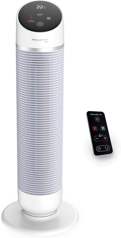 Rowenta Hot & Cool Silent HQ8110 Ventilador, calefactor, y filtra ...
