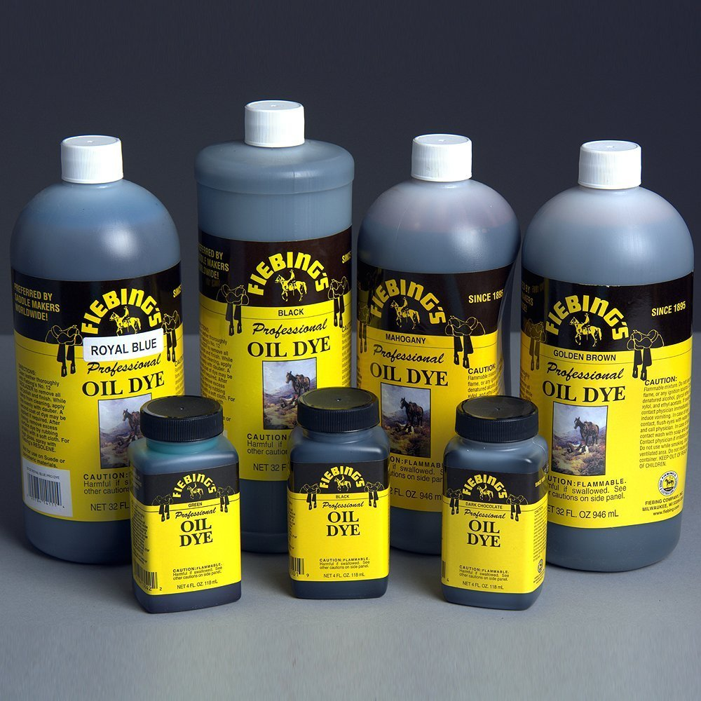 Fiebing Royal Blue 32oz Professional Oil Leather Dye by Fiebing's
