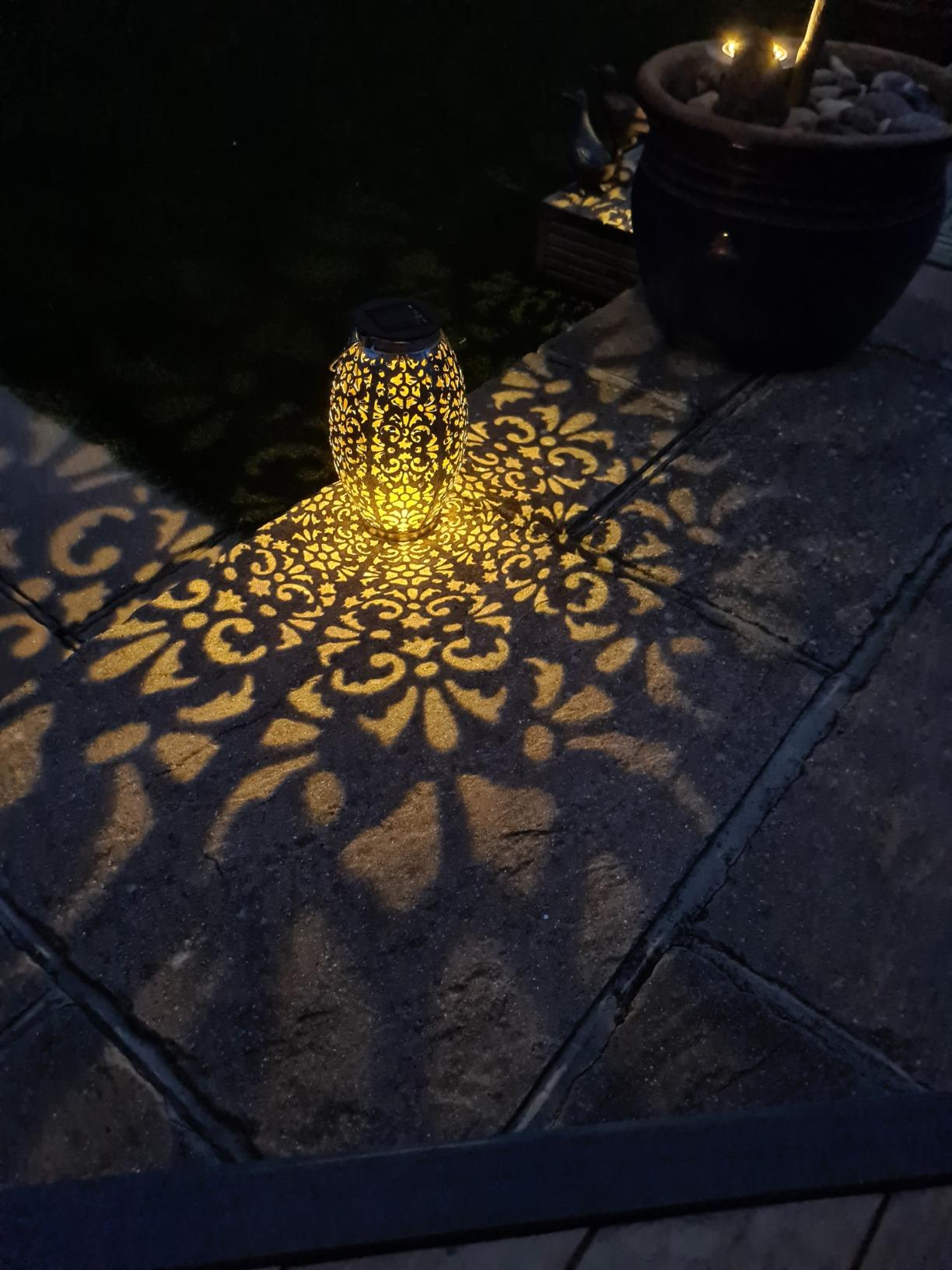 "2 x Solar Laternenlichter ""Kaixo"" photo review"
