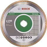 Bosch 2608602537 Disque à tronçonner diamanté standard for ceramic 200 x 25,40 x 1,6 x 7 mm