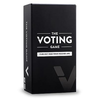 The Voting Game B01JXTOD7O Juego de Fiesta para Adultos sobre Tus Amigos (edición del Reino Unido), Nailon/A: Juguetes y juegos