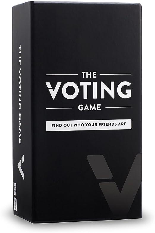 The Voting Game B01JXTOD7O Juego de Fiesta para Adultos sobre Tus Amigos (edición del Reino Unido), Nailon/A: Amazon.es: Juguetes y juegos